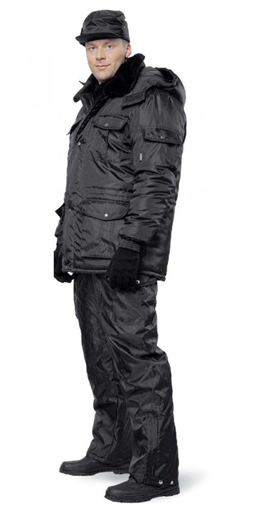 Куртка зимняя мужская охранника