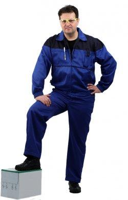 """7d8715f5f96f Костюм мужской """"Рейнир"""" с полукомбинезоном васильковый с т-синим  ..."""